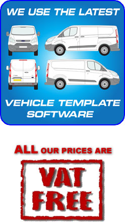 Vehicle Template Software for Vans